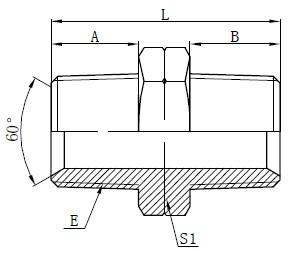 Adapters Female Maleper Hydraulic NPT
