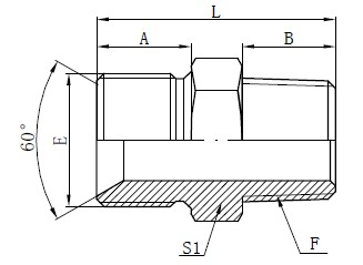 Drawing Straight Adapter